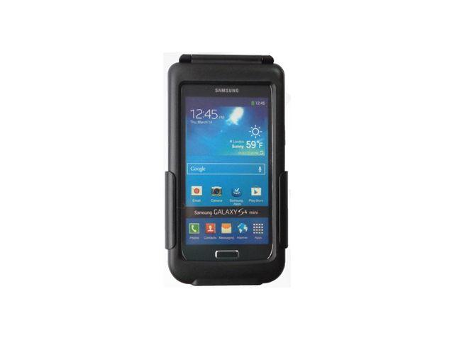 obsah balení Držák BikeConsole pro Samsung Galaxy S4 mini  na kolo nebo motorku na řídítka pro uchycení telefonu + stylus SJ3 černý