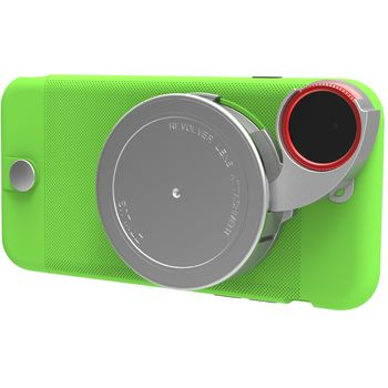 Ztylus Revolver Lite sada objektivů pro iPhone 6S/6, zelený