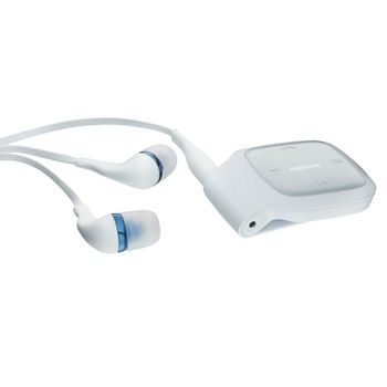 Nokia BH-214 White Bluetooth Stereo Headset