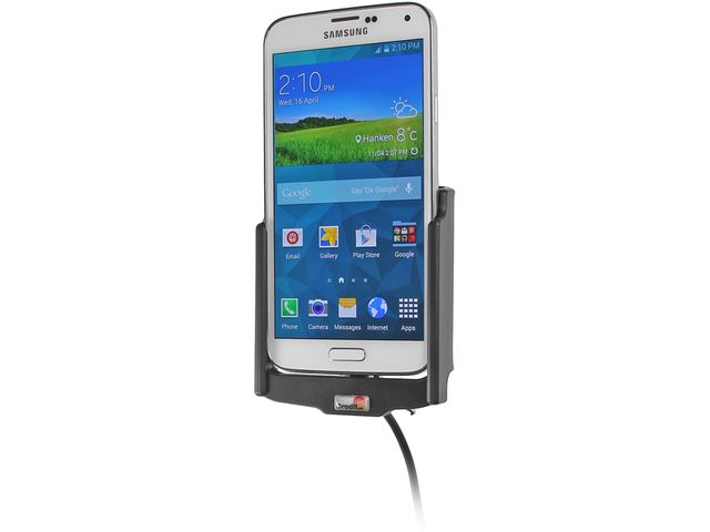 obsah balení Brodit držák do auta s nabíjením USB a CL + PanzerGlass sklo pro Samsung Galaxy S5 G900