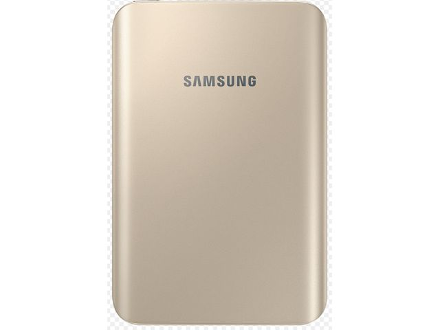obsah balení Samsung externí záložní baterie EB-PA300UF, 3000mAh, zlatá