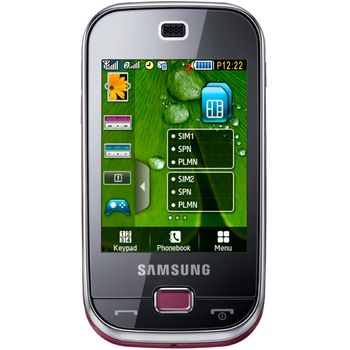 Samsung B5722 Elegant Pink