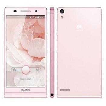 Huawei Ascend P6, růžová