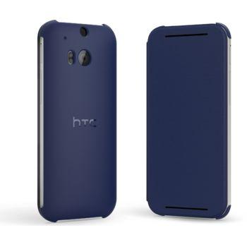 HTC flipové pouzdro HC V941 pro HTC One (M8), modré