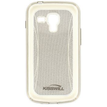Kisswill TPU Shine pouzdro pro Samsung S7580 Galaxy Trend, šedé