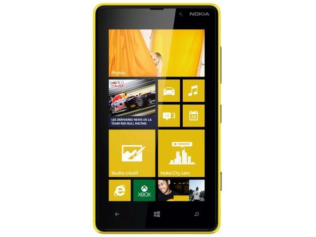 obsah balení Nokia Lumia 820 Yellow