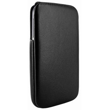 Piel Frama pouzdro pro Samsung Galaxy S4 iMagnum, Black