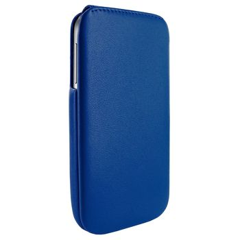 Piel Frama pouzdro pro Samsung Galaxy S4 iMagnum, Blue