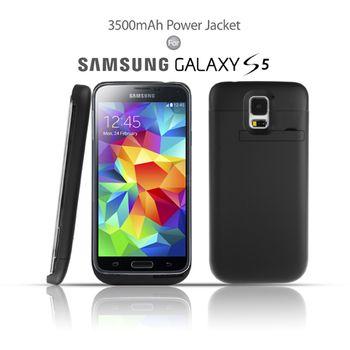 Brando plastové pouzdro s přídavnou baterií pro Galaxy S5, černé