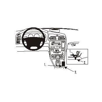 Brodit ProClip montážní konzole pro Volvo S60 00-04, střed. tunel
