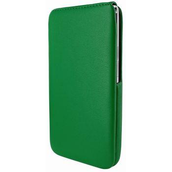 Piel Frama pouzdro pro HTC One iMagnum, Green
