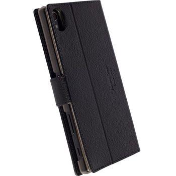 Krusell flipové pouzdro Boras pro Sony Xperia Z5, černé