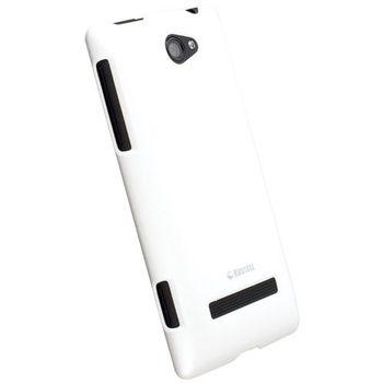 Krusell hard case - ColorCover - HTC 8S (bílá)