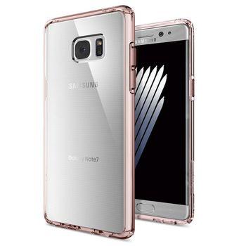 Spigen ochranný kryt Ultra Hybrid pro Galaxy Note 7, růžové