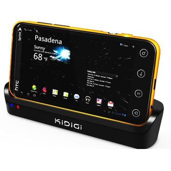 Kidigi dobíjecí kolébka pro HTC EVO 3D + slot pro náhradní baterii