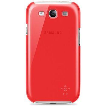 Belkin Shield Sheer pevné plastové pouzdro pro Samsung Galaxy  S III,červené (F8M403cwC04)