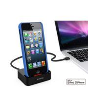 Kidigi dobíjecí a synchronizační kolébka pro Apple iPhone 5/5S/5C, černá