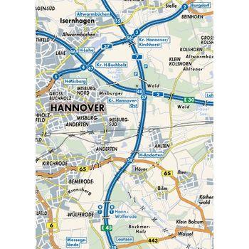 SmartMaps Autoatlas mapy Německo 1:200 000 - PALM (032)
