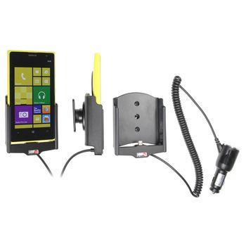 Brodit držák do auta na Nokia Lumia 1020 bez pouzdra, s nabíjením z cig. zapalovače