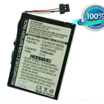 Baterie pro Mio P560, P360, Li-ion 3,7V 1350mAh