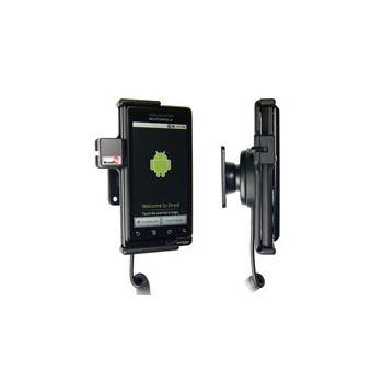 Brodit držák do auta pro Motorola Droid/Milestone s nabíjením z cig. zapalovače