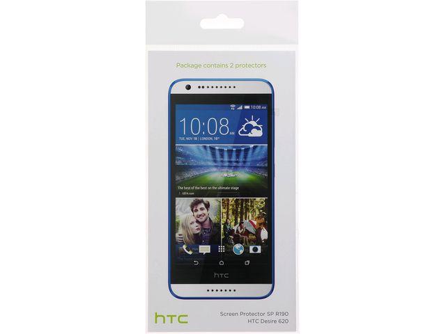 obsah balení HTC ochranná folie pro Desire 620 SP R190