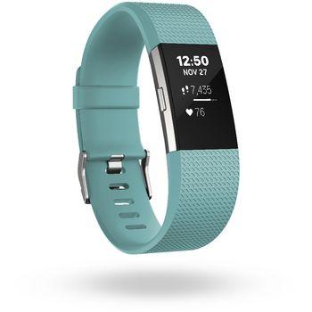Fitbit Charge 2 velikost L, světle modrá