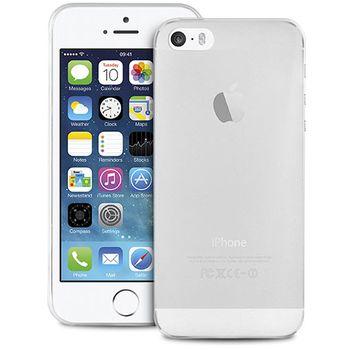 SmartLine zadní kryt UltraSlim pro iPhone 5/5S/SE, transparentní + fólie na displ