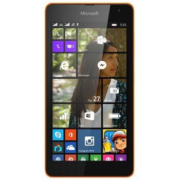 Microsoft Lumia 535 DualSIM, oranžová