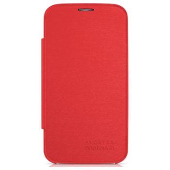 ALCATEL ONETOUCH 7047D POP C9 Flip pouzdro, červená