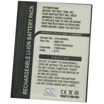Baterie pro Asus A636, A639, Li-ion 3,7V 1350mAh