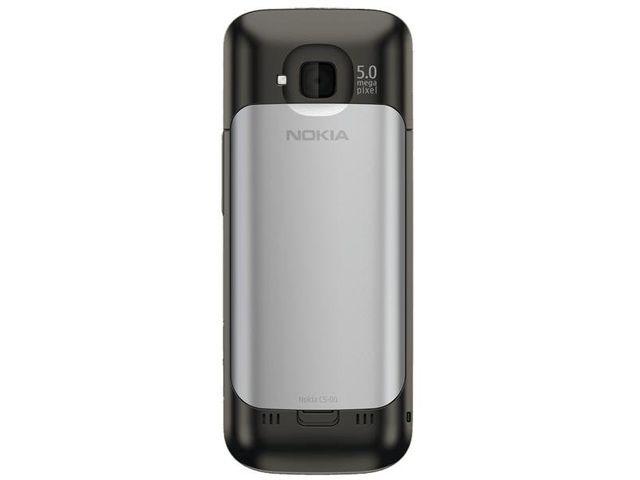 obsah balení Nokia C5-00.2 Warm Grey + Nabíjecí sada na kolo Nokia