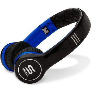 Soul by Ludacris SL100UB náhlavní sluchátka - modrá