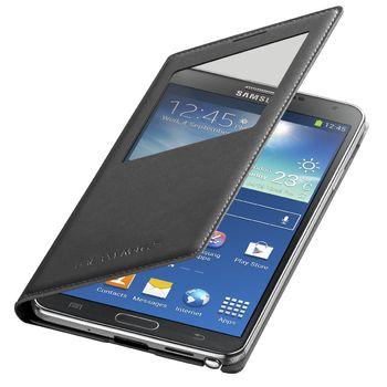 Samsung flipové pouzdro S-view EF-CN900BB pro Note 3 černé