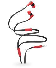 Tylt stereofonní headset Tunz Headphones Universal, černo-červené