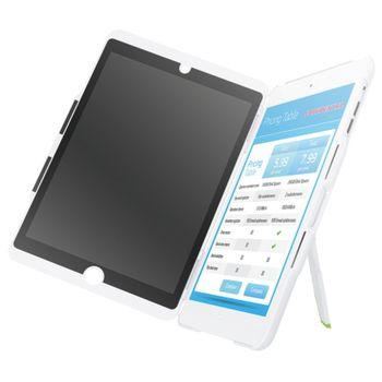 Leitz Complete kryt se stojánkem a privátním vertikálním filtrem pro iPad mini, bílá