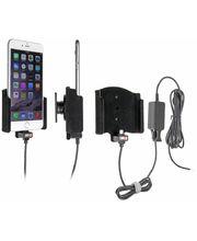 Brodit držák do auta na Apple iPhone 6 Plus bez pouzdra, se skrytým nabíjením, samet