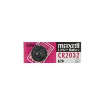 Baterie knoflíková Maxell CR 2032 / CR2032 pro Parrot, Cookoo atd. 3V, 210mAh, nenabíjecí