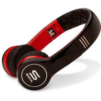 Soul by Ludacris SL100RB náhlavní sluchátka - červená