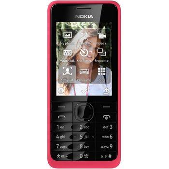 Nokia 301 růžová