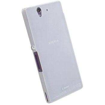 Krusell hard case - iFrostCover - SONY Xperia Z (bílá transparentní)