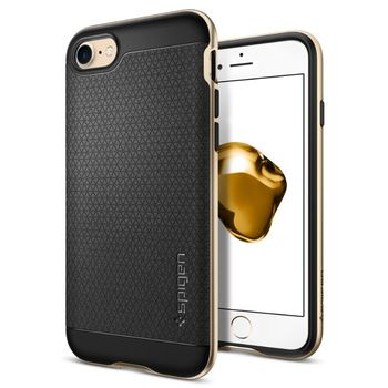 Spigen ochranný kryt Neo Hybrid pro iPhone 7, zlatá