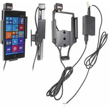 Brodit držák do auta na Nokia Lumia 830 bez pouzdra, se skrytým nabíjením