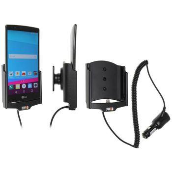 Brodit držák do auta na LG G4 (H815) bez pouzdra, s nabíjením z cig. zapalovače, ne s koženými zády