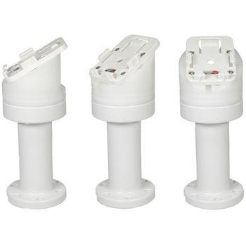 Brodit set otočného montážního podstavce a MultiMove clipu, výška 159 mm, sklon 30°, bílý