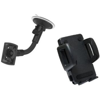 SH kompletní držák na čelní sklo s husím krkem, max šířka 60mm