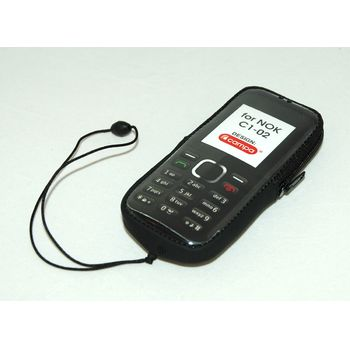 Campa pouzdro pro Nokia C1-02, černá