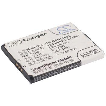 Baterie pro Gigabyte GSmart G1362, 1550mAh li-ion