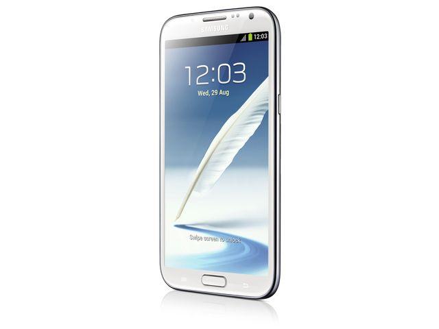obsah balení Samsung Galaxy Note II bílý + originální pouzdro černé ZDARMA