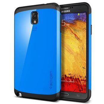 Spigen pevné pouzdro Slim Armor pro Galaxy NOTE 3, modrá